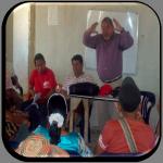 Reunión del candidato por el circuito 3 Sergio Fuenmayor con la población del municipio Almirante Padilla
